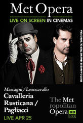 The Metropolitan Opera: Cavalleria Rusticana/Paliacci showtimes and tickets