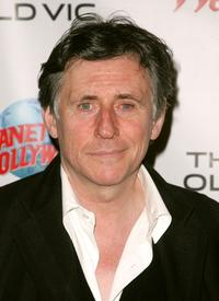 Gabriel Byrne at a benefit evening for London's famed Old Vic Theatre.