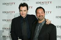 James Mangold and John Cusack at the premiere of