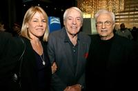 Lillah McCarthy, Kevin McCarthy and Frank Gehry at the Los Angeles premiere of