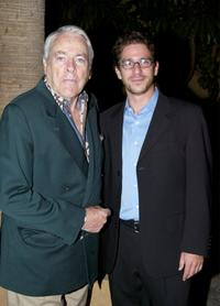 Kevin McCarthy and Michael Greenspan at the American Cinematheque screening and cast and crew reunion of