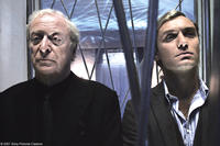 Michael Caine and Jude Law in