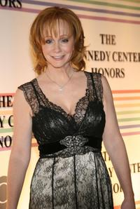 Reba McEntire at the 29th Annual Kennedy Center Honors.