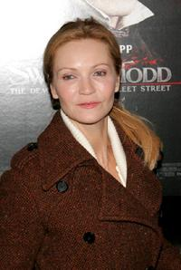 Joan Allen at the New York premiere of