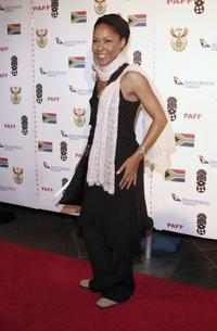 Monica Calhoun at the 14th Annual Pan African Film Fest opening night gala.
