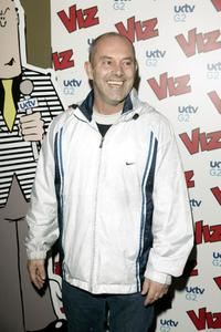 Keith Allen at the 25th anniversary and book launch party for cult adult comic Viz Magazine.