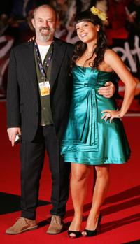 Keith Allen and daughter Lily Allen at the world premiere of