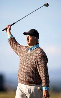 Bill Murray at the Alfred Dunhill Links Championship - Round 2.