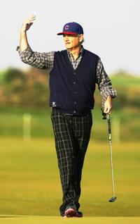Bill Murray at the Alfred Dunhill Links Championship - Round 3.