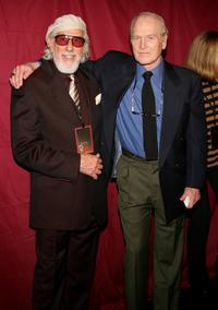 Paul Newman and Lou Adler at the Singers and Songs Celebrate Tony Bennett's 80th Birthday.