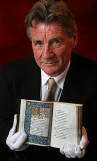 Michael Palin at the Oxford University launch of 1.25 billion campaign.