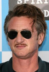 Sean Penn at the 22nd Annual Film Independent Spirit Awards.