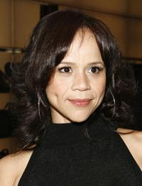 Rosie Perez at the Giorgio Armani Go Red for World AIDS Day.