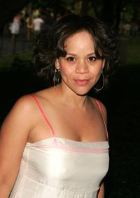 Rosie Perez at the opening night of Shakespeare in the park