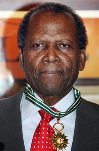 Sidney Poitier at the 59th edition of the International Cannes Film Festival.