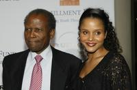 Sidney Poitier and Sydney Poitier at the Fulfillment Fund's Annual Stars Gala.