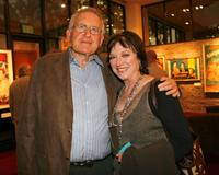 Veronica Cartwright and Robert Chartoff at the reception prior to the screening of