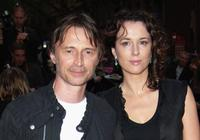 Robert Carlyle and his wife Anastasia at the World Premiere of his latest film