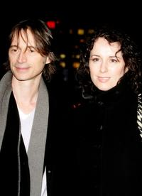 Robert Carlyle and his wife Anastasia Shirley at the