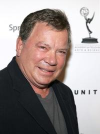 William Shatner at the Emmy Nominee Reception for Outstanding Talent.