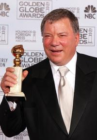 William Shatner at the 62nd Annual Golden Globe Awards.