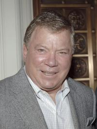 William Shatner at the Luxe Wear Fall/Winter Fashion Show.
