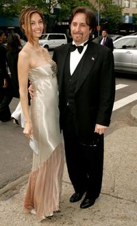 Ron Silver and Emily Ness at the reception in honor of the 32nd Annual Daytime Emmy Awards at Gracie Mansion.