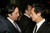 Ron Silver and Akiva Goldsman at the after party for the Screening of