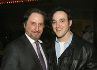 Ron Silver and Greg Bello at the after party for the Screening of