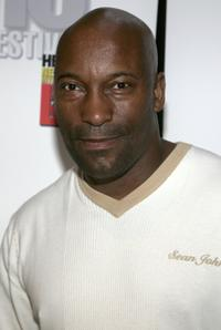 John Singleton at the panel discussion for the making of