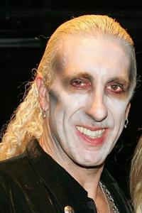 Dee Snider at the wedding vow renewal ceremony.