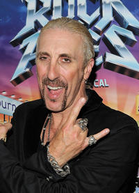 Dee Snider at the after party of Dee Snider's Broadway debut in