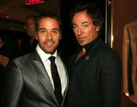 Jeremy Piven and Bruce Springsteen at the Tom Ford's party.