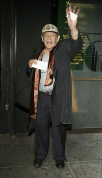 Jerry Stiller at the opening of