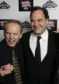 Oliver Stone and Nick Park at the British Comedy Awards 2006.