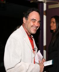 Oliver Stone at the premiere of