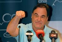 Oliver Stone at the Dubai International Film Festival.