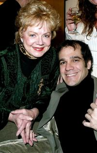 Janet Carroll and Andrew Ross at the Pre-Oscar retreat