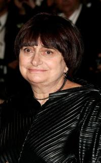 Agnes Varda at the screening of