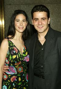 Max Casella and wife at the New York premiere of