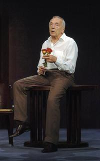 Jean-Pierre Cassel picture taken on the stage of the theater of L'Atelier ' in