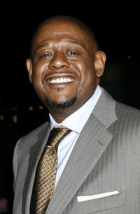 Forest Whitaker at The Late Show with David Letterman in New York City.