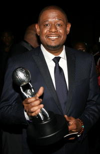 Forest Whitaker at the 38th annual NAACP Image Awards in Los Angeles.