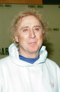 Gene Wilder at the signing of his new book at Barnes and Noble.