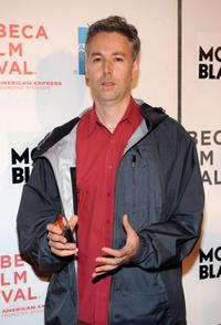 Adam Yauch at the premiere of