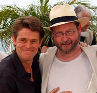 Willem Dafoe and Lars von Trier at the photocall of