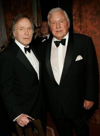 Dick Cavett and Merv Griffin at the Museum of Television and Radio gala honoring of Merv Griffin at the Waldorf Astoria .