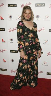 Justine Clarke at the Penfolds Icon Gala.