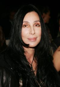 Cher at the Agent Provocateur Fall 2006 show during Mercedes-Benz Fashion Week.