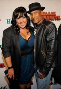 Kym Whitley and Phil Morris at the Los Angeles premiere of